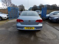USED 2011 11 VOLKSWAGEN PASSAT 2.0 SE TDI BLUEMOTION TECHNOLOGY 4d 139 BHP NEW MOT, SERVICE & WARRANTY