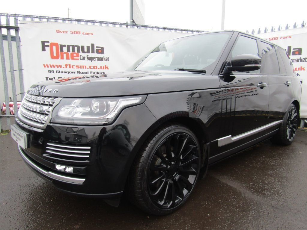 USED 2014 14 LAND ROVER RANGE ROVER 3.0 TD V6 Vogue SE 5dr (start/stop) PAN ROOF+RETRACTABLE STEPS+NAV