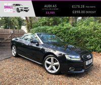 USED 2011 11 AUDI A5 2.0 TFSI S LINE 2d 208 BHP FULL SERVICE HISTORY TOP SPEC FULL BLACK LEATHER FACTORY BLUETOOTH