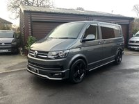 USED 2017 67 VOLKSWAGEN TRANSPORTER VW T6 Transporter 67reg 150ps DSG Indium Grey Custom Kombi Finance arranged and available with low deposit and HP plans up to 10 years