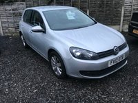 2012 VOLKSWAGEN GOLF 1.6 MATCH TDI 5d 103 BHP £SOLD