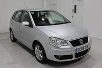 USED 2009 09 VOLKSWAGEN POLO 1.2 MATCH 5d 59 BHP