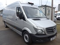 USED 2017 17 MERCEDES-BENZ SPRINTER 314CDI LWB CHILLER WITH STANDBY, 140 BHP [EURO 6], LOW MILES