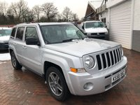 USED 2009 09 JEEP PATRIOT 2.0 LIMITED CRD 5d 139 BHP