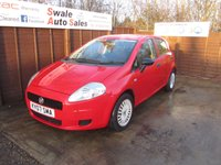USED 2009 07 FIAT GRANDE PUNTO 1.2 ACTIVE 8V 5d 65 BHP FINANCE AVAILABLE FROM £21 PER WEEK OVER TWO YEARS - SEE FINANCE LINK FOR DETAILS