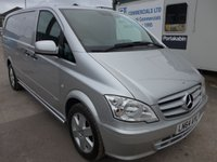 USED 2014 64 MERCEDES-BENZ VITO 116 CDI LWB AUTOMATIC SPORT, 163 BHP [EURO 5]