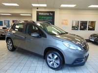USED 2015 15 PEUGEOT 2008 1.2 PURE TECH ACTIVE 5d 82 BHP BLUETOOTH + DAB RADIO + AIR CONDITIONING + FULL SERVICE HISTORY + FULL MOT + LOW MILEAGE + LOW CAR TAX + ALLOYS