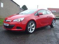 2012 VAUXHALL ASTRA 1.4 GTC SPORT S/S 3d 118 BHP £5250.00