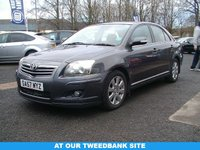 USED 2007 57 TOYOTA AVENSIS 1.8 TR VVT-I 5d 128 BHP AT OUR TWEEDBANK SITE
