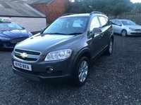 USED 2010 10 CHEVROLET CAPTIVA 2.0 LTX VCDI 5d 148 BHP 7 SEATER 7 SEATER-SERVICE HISTORY-DIESEL-1 FORMER KEEPER-LEATHER HEATED SEATS