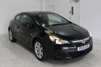 USED 2014 14 VAUXHALL ASTRA 1.4 GTC SPORT S/S 3d 118 BHP