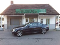 USED 2003 53 BMW M3 3.2 M3 2d 338 BHP FINANCE AND PART EXCHANGE WELCOME. 3 MONTHS WARRANTY. ALL CARS HAVE A YEAR MOT AND A FRESH SERVICE.