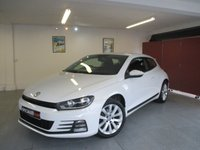 2015 VOLKSWAGEN SCIROCCO 2.0 TDI BLUEMOTION TECHNOLOGY 2d 148 BHP £10595.00