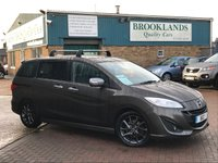 2014 MAZDA 5 1.6 D SPORT VENTURE EDITION 7 Seater Meteor Grey Mica Full Leather SAt NAV £9495.00