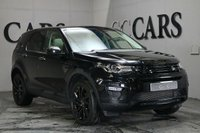 USED 2014 64 LAND ROVER DISCOVERY SPORT 2.2 SD4 HSE LUXURY 5d AUTO 190 BHP Black Full Leather Heated / Air Cooled Electric Memory Seats, 7 Seats, Satellite Navigation + DAB Radio + Bluetooth Connectivity, 20 Inch Stormer Alloy Wheels, Fixed Panoramic Glass Sunroof, Remote Power Tailgate, Full Park Assist with Front and Rear Park Distance Control + 360 Cameras, Automatic Bi-xenon Headlights + High Beam Assist + Headlight Wash, Heated Multi Function Steering Wheel, Cruise Control, Lane Departure Warning, Voice Control, Digital 4 Zone Climate Control,