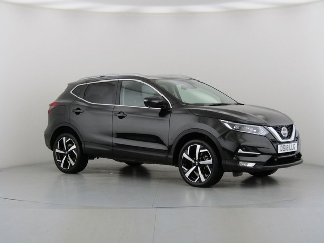 View our 2018 18 NISSAN QASHQAI (26) 1.5 DCI TEKNA 5d 108 BHP with Glass Roof