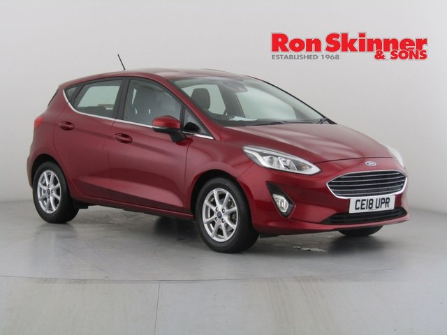 View our 2018 18 FORD FIESTA 1.0 ZETEC 5d 99 BHP with SYNC3 Nav