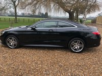 USED 2015 15 MERCEDES-BENZ S CLASS 4.7 S500 AMG LINE 2d AUTO 450 BHP