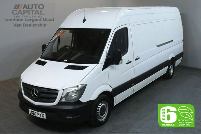 2017 67 MERCEDES-BENZ SPRINTER 2.1 314CDI 140 BHP LWB H/ROOF EURO 6 PANEL VAN