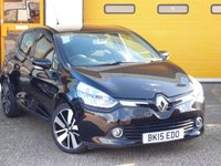USED 2015 15 RENAULT CLIO 0.9 DYNAMIQUE S MEDIANAV ENERGY TCE S/S 5d 90 BHP FULL RENAULT SERVICE HISTORY WITH SERVICES AT 8K 15K & 24K, CHEAP £20 ROAD TAX, TOP SPECIFICATION INCLUDING CLIMATE CONTROL, TOUCHSCREEN SAT NAV, BLUETOOTH + USB MUSIC STREAMING AND UPGRADED AUDIO. MANUFACTURERS WARRANTY MAY 19'