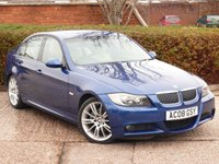 USED 2008 08 BMW 3 SERIES 2.5 325I M SPORT 4d AUTO 215 BHP FULL SERVICE HISTORY WITH SERVICES AT 5k, 16K, 31K, 44K, 56K, 67K, 77K & 92K. FULL IVORY LEATHER, HEATED SEATS, AUTO, MSPORT ALLOYS, CLIMATE CONTROL  WE  FULLY PREPARE OUR CARS TO INCLUDE A NEW MOT WITH NO ADVISORIES, A FULL VALET, AND A 6 MONTH MAJOR MECHANICAL BREAKDOWN WARRANTY.