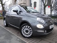USED 2016 66 FIAT 500 1.2 LOUNGE 3d 69 BHP *** FINANCE & PART EXCHANGE WELCOME *** £ 20 ROAD TAX STOP/START PANORAMIC ROOF PARKING SENSORS AIR/CON DAB RADIO AUX & USB