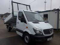 USED 2014 14 MERCEDES-BENZ SPRINTER 313 CDI MWB AUTOMATIC TIPPER, 130 BHP [EURO 5]