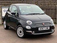 2017 FIAT 500 1.2 LOUNGE 3d 69 BHP £7995.00