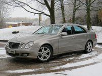 USED 2008 08 MERCEDES-BENZ E CLASS 1.8 E200 KOMPRESSOR AVANTGARDE 4d AUTO 181 BHP