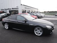 USED 2017 66 BMW 6 SERIES 3.0 640D M SPORT GRAN COUPE 4d AUTO 309 BHP PROF MEDIA