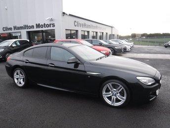 2017 BMW 6 SERIES 3.0 640D M SPORT GRAN COUPE 4d AUTO 309 BHP PROF MEDIA £24995.00
