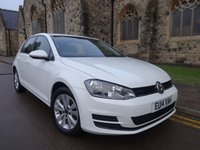 2014 VOLKSWAGEN GOLF 1.6 SE TDI BLUEMOTION TECHNOLOGY DSG 5d AUTO 103 BHP £9395.00