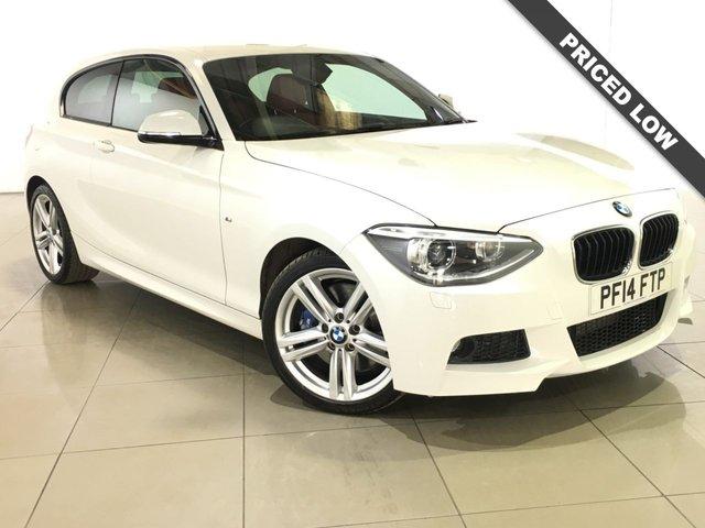 View our 2014 14 BMW 1 SERIES 2.0 120D M SPORT 3d AUTO 181 BHP
