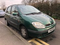 1999 RENAULT SCENIC 1.6 ALIZE 16V 5d AUTO 106 BHP £399.00