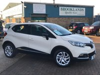 2016 RENAULT CAPTUR 0.9 DYNAMIQUE NAV TCE 5d £30 a year road tax , One Owner Car  £9495.00