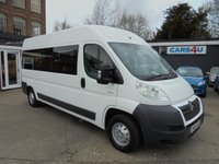 2008 CITROEN RELAY 3.0 35 L3H2 160 LWB HR 5d 157 BHP 17 Seater £7995.00