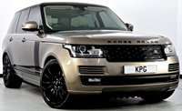 USED 2015 65 LAND ROVER RANGE ROVER 3.0 TD V6 Vogue 4X4 (s/s) 5dr Cost New £88k with £11k Extras