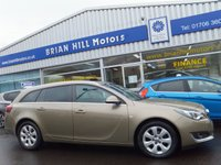 USED 2016 65 VAUXHALL INSIGNIA 1.6 CDTi  SRi SPORT TOURER ESTATE NAV 5dr (134bhp) .....ONE OWNER. FULL VAUXHALL SERVICE HISTORY. (£20 Road tax & 72mpg) SAT. NAV. 2 ZONE CLIMATE CONTROL. 6-SPEED TRANSMISSION