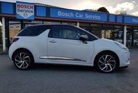 USED 2017 17 DS DS 3 1.2 PURETECH GIVENCHY LE MAKEUP S/S 3d 109 BHP Special Edition DS3 Finished in Opaline Satin White