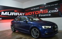 2014 AUDI A3 2.0 TDI S LINE 4DOOR 148 BHP SCUBA BLUE  £SOLD