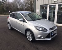 USED 2014 63 FORD FOCUS 1.6 TDCI ZETEC NAVIGATOR 115 BHP THIS VEHICLE IS AT SITE 1 - TO VIEW CALL US ON 01903 892224