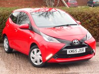 USED 2015 65 TOYOTA AYGO 1.0 VVT-I X-PLAY 5d 69 BHP FULL SERVICE HISTORY WITH SERVICES AT 11, 20K, 34K & 43K. FREE ROAD TAX, BLUETOOTH MUSIC STREAMING. AIR CONDITIONING, SPEED LIMITER, SUPERB FUEL ECONOMY - 55 MILES PER GALLON DAY TO DAY DRIVING, MANUFACTURERS WARRANTY NOVEMBER 2020  ALL OUR CARS ARE FULLY PREPARED TO INCLUDE A NEW MOT WITH NO ADVISORIES, A FULL VALET, AND  A 6 MONTH MAJOR MECHANICAL BREAKDOWN WARRANTY. NEED FINANCE? WE ARE FINANCE SPECIALISTS AND HAVE A RANGE OF PACKAGES TO SUIT ALL BUDGETS.