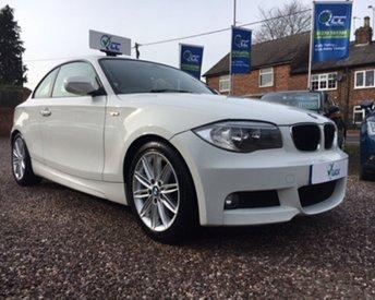 2013 BMW 1 SERIES 2.0 118D M SPORT 2d 141 BHP £11795.00