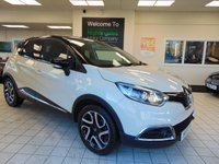 USED 2015 B RENAULT CAPTUR 1.5 DYNAMIQUE S MEDIANAV ENERGY DCI S/S 5d 90 BHP ZERO TAX + SATELLITE NAVIGATION + BLUETOOTH + CLIMATE CONTROL + CRUISE CONTROL + ALLOYS + FULL SERVICE HISTORY + FULL MOT + 2 KEYS
