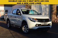 USED 2016 16 MITSUBISHI L200 2.4 DI-D 4X4 4LIFE DCB 1d 151 BHP A 1 keeper 2016 Mitsubishi L200  DI-D DOUBLE CAB 151 4LIFE in white with just 30000 miles.Superb value at £12499 + vat.