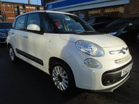 2013 FIAT 500L 1.2 MULTIJET POP STAR DUALOGIC 5d AUTO 85 BHP £5449.00