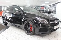 USED 2015 15 MERCEDES-BENZ GLA-CLASS 2.0 GLA45 AMG 4MATIC AUTO 360 BHP PAN ROOF HARMAN KARDON 20'S