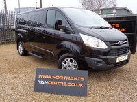 2015 FORD TOURNEO CUSTOM 2.2 300L TITANIUM SHUTTLE  TDCI 5d 125 BHP *GENUINE 157 MILES ONLY* £18990.00