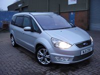 USED 2011 11 FORD GALAXY 2.0 TITANIUM TDCI 5d AUTO 138 BHP ANY PART EXCHANGE WELCOME, COUNTRY WIDE DELIVERY ARRANGED, HUGE SPEC