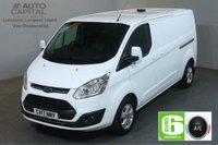 USED 2017 FORD TRANSIT CUSTOM 2.0 290 LIMITED 130 BHP L2 H1 LWB EURO 6 AIR CON VAN AIR CONDITIONING EURO 6 LTD